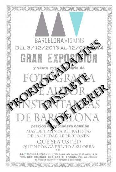 Varis autors. PRORROGADA !!!FINS DISSABTE 1 DE FEBRER DE 2014!!! | Barcelona Visions
